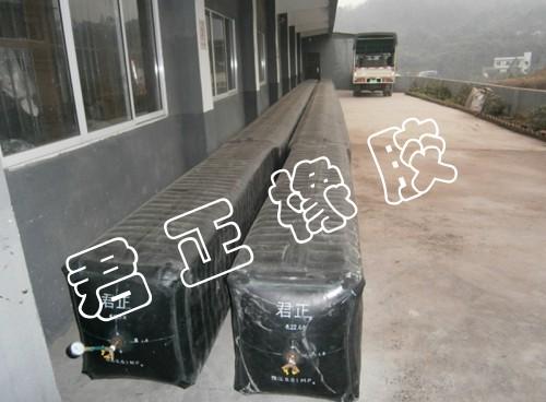 不同型号异形气囊的充气方法及过程