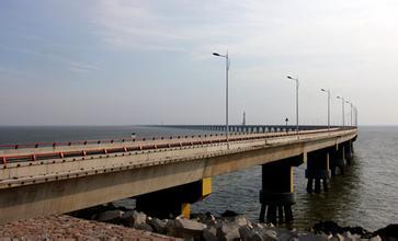 如东县公路站,对县道桥梁进行了全面检查